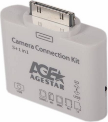 фото Переходник для Apple iPad 2 Agestar IPK02-A Camera Connection Kit