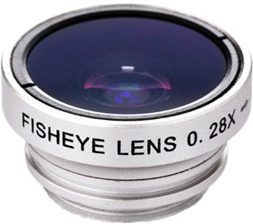 фото Объектив Barey Fisheye для Apple iPhone 4S