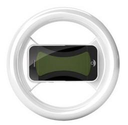 фото Держатель в виде руля для Apple iPhone 4S Clingo 07001 Universal Game Wheel