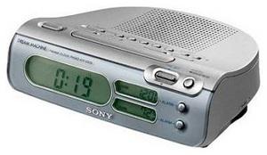 фото Настольные часы Sony ICF-C273L