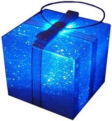 фото Елочная игрушка Светящийся подарок EL-1020