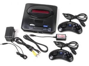 Фото игровой консоли Sega Mega Drive 2