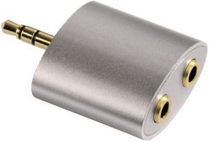 фото Переходник для наушников с 2 входами на 3.5 мм HAMA H-80853