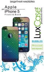 фото Наклейка на Apple iPhone 5 LuxCase Front&Back Bubbles x2