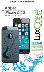 Фото виниловой наклейки на iPhone 5S LuxCase Front&Back Guitar x2