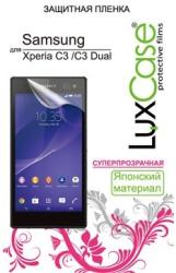 фото Защитная пленка для Sony Xperia C3 LuxCase суперпрозрачная