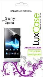 Фото антибликовой защитной пленки для Sony Xperia Z3 LuxCase