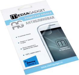 Фото антибликовой защитной пленки для Sony Xperia J Media Gadget Premium