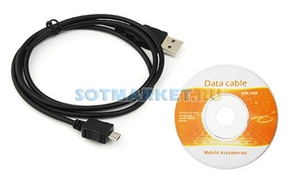 Фото USB шнура для Nokia 8800 Gold Arte CA-101 + CD