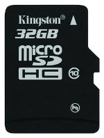 фото Карта памяти Карта памяти Kingston MicroSDHC 32GB Class 10 SDC10/32GBSP
