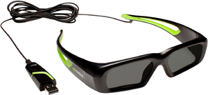 фото 3D очки NVIDIA 3D Vision Wired Glasses