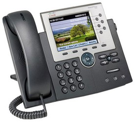 фото IP телефон Cisco Unified IP Phone CP-7965G