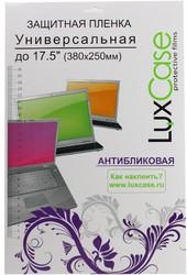 """фото Защитная пленка LuxCase 17.5"""" универсальная антибликовая"""