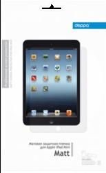 Фото матовой защитной пленки для Apple iPad mini Deppa
