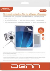 Защитная пленка для HTC One V DENN DFP730 универсальная