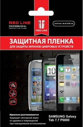 фото Защитная пленка для Samsung GALAXY Tab 7.7 P6800 Red Line матовая