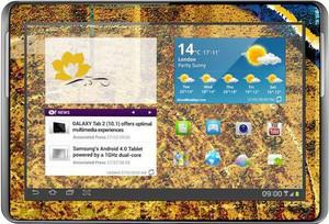 фото Наклейка для Samsung GALAXY Tab 2 10.1 P5100 Vinil-Koritsa Абстракция №117
