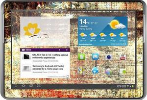 фото Наклейка для Samsung GALAXY Tab 2 10.1 P5100 Vinil-Koritsa Абстракция №21