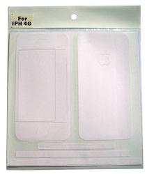 Наклейка на заднюю стенку для Apple iPhone 4S Однотонная