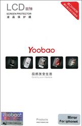Защитная пленка для Apple iPhone 4S Yoobao Mirror