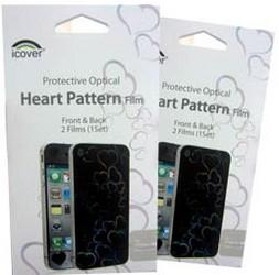 Защитная пленка для Apple iPhone 4 iCover Heart