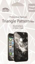 Защитная пленка для Apple iPhone 4S iCover Triangle
