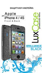 фото Защитная наклейка для Apple iPhone 4 LuxCase Brilliance
