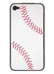 Наклейка для Apple iPhone 4S ZAGG LEATHERSkin Sport Baseball