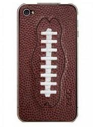 Наклейка для Apple iPhone 4S ZAGG LEATHERSkin Sport Football