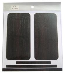 Наклейка на заднюю стенку для Apple iPhone 4S под Дерево