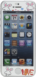 Наклейка на Apple iPhone 5 Cartoon Rabbits Pattern SotMarket.ru 470.000