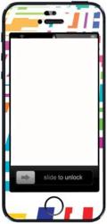 фото Наклейка для Apple iPhone 5 Vinil-Koritsa Широкоугольный взгляд