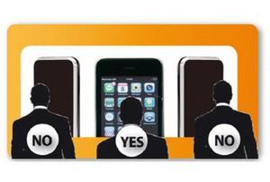Защитная пленка для Apple iPhone 4S Cellular Line Secret с затемняющим эффектом