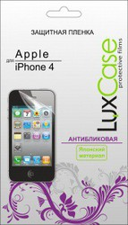 фото Защитная пленка для Apple iPhone 4 LuxCase антибликовая