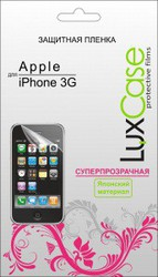 фото Защитная пленка для Apple iPhone 3G LuxCase суперпрозрачная