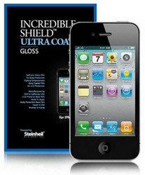Защитная пленка для Apple iPhone 4 SGP Steinheil Incredible Shield Ultra Coat GLOSS SGP06746
