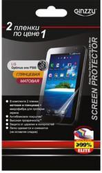 Защитная пленка для LG P500 Optimus One Ginzzu GS-591B
