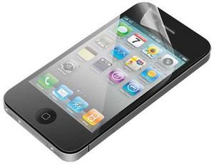 Защитная пленка для Apple iPhone 4 Ginzzu GS-553C глянцевая