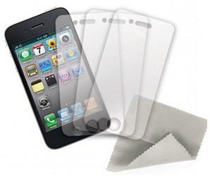 Защитная пленка для Apple iPhone 4 Griffin Screen Care Kit GB01717 матовая