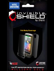 Защитная пленка для HTC Desire HD ZAGG InvisibleSHIELD