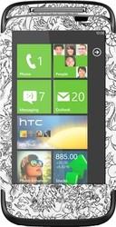 Фото виниловой наклейки на HTC 7 Mozart Vinil-Koritsa 143
