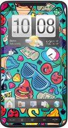 Фото виниловой наклейки на HTC Touch HD2 Vinil-Koritsa 92.0