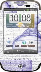 Фото виниловой наклейки на HTC Wildfire Vinil-Koritsa 104