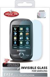 Защитная пленка для Samsung i9100 Galaxy S 2 Cellular Line Clear Glass SPI9100