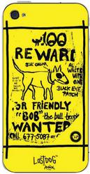 Защитная наклейка для Apple iPhone 4S LostDog L02-00019-01