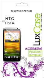 Защитная пленка для HTC One X LuxCase антибликовая