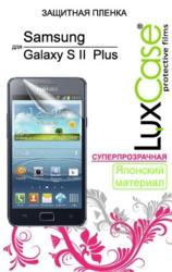 фото Защитная пленка для Samsung i9105 Galaxy S 2 Plus LuxCase суперпрозрачная