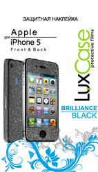 фото Наклейка для Apple iPhone 5 LuxCase Brilliance