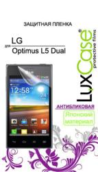 фото Защитная пленка для LG E615 Optimus L5 Dual LuxCase антибликовая