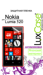 фото Защитная пленка для Nokia Lumia 520 LuxCase антибликовая
